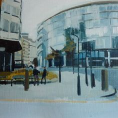 "Saatchi Art Artist Phil Tyler; Painting, ""Cheapside 2"" #art"