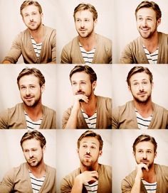 Ryan Gosling - though looking a little like a Canadian mime ;-)