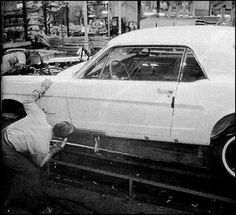 1965 Mustang Assembly Line