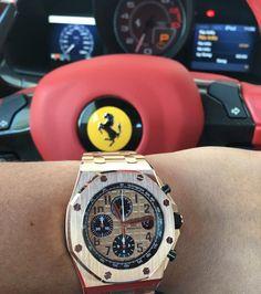 AP vs Ferrari by @misterib | Follow my friend @misterib for...