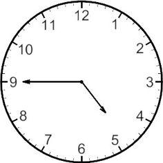 free analog clock clip art teaching math pinterest clip art rh pinterest com