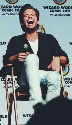 Sebastian Stan at Wizard World Comic Con 2014 ^_^