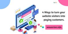 Digital marketing or is the cornerstone to fulfill your intention without any hassle.So, grab the effective marketing tips to turn your website visitors to paying Online Marketing, Digital Marketing, Your Website, Small Business Marketing, Seo, Tips, Counseling