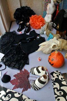 Vitrine Halloween pour Lilli Bulle