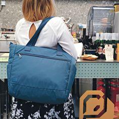 Pacsafe Citysafe Large Antitheft Tote Bag #travelbag #totebag #travel #travelbug #travelaccessories