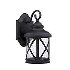 @Overstock - Brighten up you patio or porch with this Transitional Outdoor Light Fixture. This light features a black finish and has clear seedy glass shades.http://www.overstock.com/Home-Garden/Transitional-1-light-Black-Outdoor-Light/6973405/product.html?CID=214117 $39.99