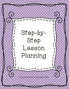 FREE LESSON - �Lesson Planning Template� - Go to The Best of Teacher Entrepreneurs for this and hundreds of free lessons.