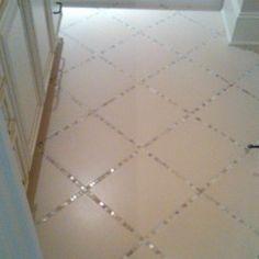 Floor Tile Ideas glass tiles instead of grout