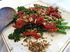 Tenderstem Broccoli, Sundried Tomato and Walnut Salad