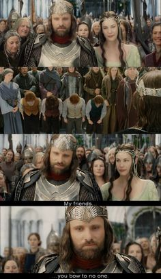 The Lord of the Rings: The Return of the King. One of my favorite moments.