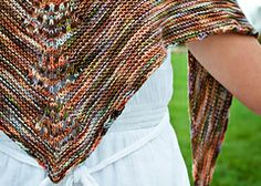 Margaret Sullivan's Shawlette pattern by Shannon Squire; part of the Neighborhood Knits & Crochets Too: 2014 Rose City Yarn Crawl Pattern Collection eBook available on Ravelry. Photography by Joanna Schilling of Ember Owl Photography.