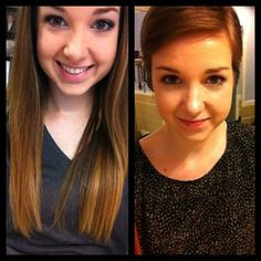 Before and after 13 inches.