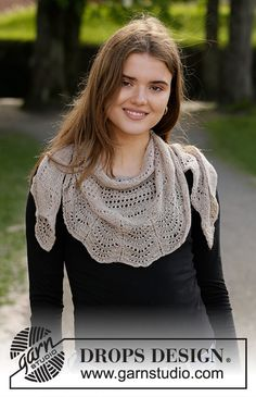 Women - Free knitting patterns and crochet patterns by DROPS Design Baby Knitting Patterns, Lace Knitting, Knitting Designs, Baby Patterns, Crochet Patterns, Drops Design, Cardigan Au Crochet, Knit Crochet, Knitted Coat