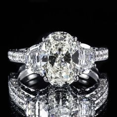 4-56ct-GIA-Oval-18K-3-Stone-Half-Moon-Pave-Engagement-Ring-F-SI1-2151669363