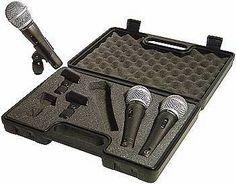 Musiikkia, teknologiaa ja musiikkiteknolgiaa: Edullinen mikrofonisarja kaikenlaiseen käyttöön: T...