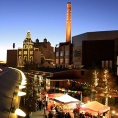 The Pearl Brewery is merry & bright for holiday shopping. Don't miss the tamale festival Dec. 6.