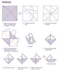 how to make a paper sailboat printable origami paper boat origami