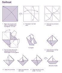 origami boat - Google Search