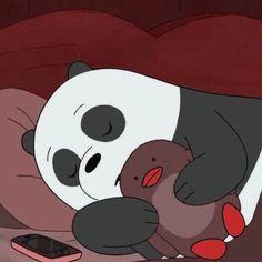 Cute Panda Wallpaper, Bear Wallpaper, Cute Disney Wallpaper, Cute Wallpaper Backgrounds, We Bare Bears Wallpapers, Panda Wallpapers, Cute Cartoon Wallpapers, We Bear, Cartoon Profile Pictures