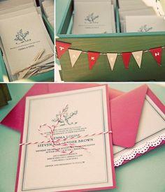 wedding invitation love creative first impression