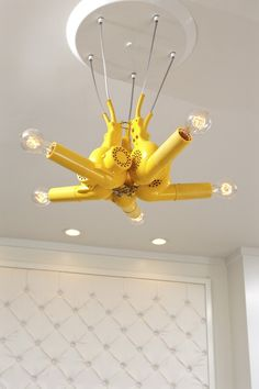 if i open a salon, then a blow dryer chandelier is a must