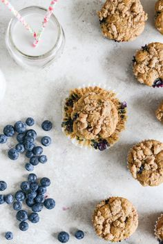 This recipe for Whole Wheat Blueberry Crumb Muffins is sure to inspire you to start your day off wholesomely. Plus, the bursts of fresh fruit flavor inside are sure to delight the whole family.