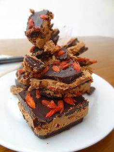 Raw Chocolate Truffle Sandwiches