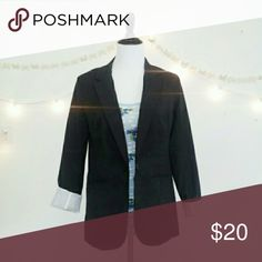 Classic Black Blazer Classic Black Blazer. EUC (EXCELLENT USED CONDITION). Oversized Fit. MISSES Sizing (Size LARGE). >MEASUREMENTS  Length Bust Arm/Sleeve  Please Ask Questions Before Purchasing  ALL SALES ARE FINAL  NO TRADES NO PAYPAL NO HOLDS NO LOW BALL OFFERS Mossimo Supply Co. Jackets & Coats Blazers