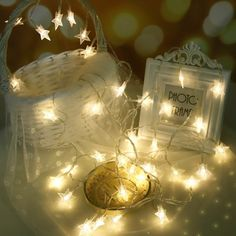 Lights & Lighting Zjright New Christmas Decoration Glass Colorful Led Light String Interior Fragrance Eternal Flower Holiday Kids Birthday Gifts Discounts Sale