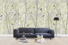 May Magpie - Wall Mural & Photo Wallpaper - Photowall