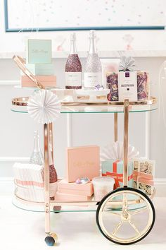 a pink candyland christmas with LaurenConrad.com