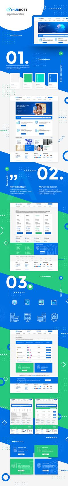 HubHost on Behance