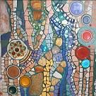 mosaic - I love the design and fluid colors.