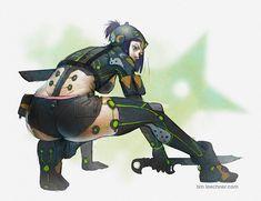 """kanuvina: """" Techno Ninja by timmi-o-tool """""""