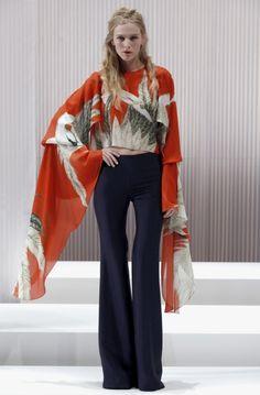 Wes Gordon pants 2013 collection