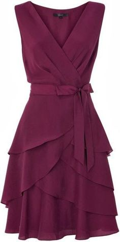 Adorable sleeveless mini dress fashion cute outfits for girls 2017 Pretty Dresses, Beautiful Dresses, Dress Me Up, Dress To Impress, Dress Skirt, Wrap Dress, Floaty Dress, Designer Dresses, Short Dresses