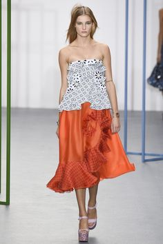 Holly Fulton Spring 2016 Ready-to-Wear Fashion Show