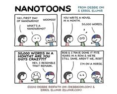 Source for Image: Inkygirl  Could you write a novel in a month?   November is National Novel Writing Month.   NaNoWriMo has become a phenomenon. It is web-based and really natty – or, as they say...