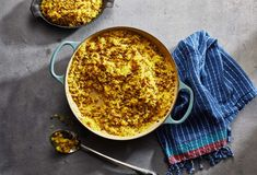 Pati Jinich » Rice with Lentils and Caramelized Onions