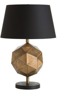 DRU LAMP, In Stock, Arteriors