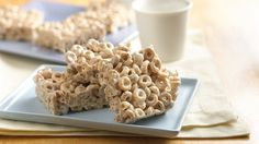 Good-for-you Cheerios® cereal and two other ingredients make an irresistible no-bake bar.