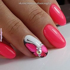 Idee per manicure rosse Fancy Nails, Red Nails, Cute Nails, Pretty Nails, Cute Acrylic Nails, Acrylic Nail Designs, Nail Art Designs, Fingernail Designs, Nails Design
