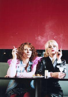 Jennifer Saunders as Edina Monsoon, with Joanna Lumley as Patsy, Absolutely Fabulous. Jennifer Saunders, Happy Birthday Quotes, Birthday Wishes, Birthday Cards, Birthday Funnies, Funny Birthday, Patsy And Eddie, Edina Monsoon, Frases