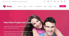 Best WordPress Dating Theme http://thememags.com/wordpress-dating-themes/