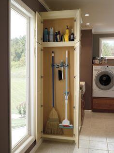 Broom Closet Ideas Images Storage