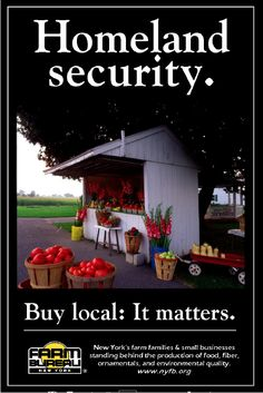 The Department of Homeland Security ran a war simulation on how the U.S. would respond to an act of agricultural terrorism. Officials concluded that intense concentration of agriculture and long-distance shipping make us quite vulnerable to both malicious and accidental food contamination. Eating local decentralizes that target. https://www.pick-a-pepper.com