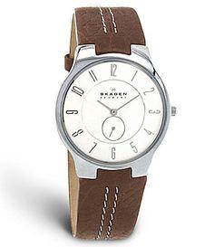 Skagen White Dial Watch