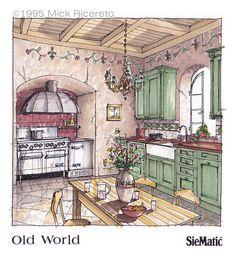 Kitchen Concept Rendering