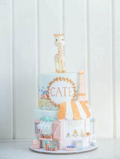 Como fez muito sucesso nossa seleção de bolos,aqui mais umas ideias para vocês. Imagens do site Cotton Tail Cake Studio. Lindas ideias e muita inspiração! Bjs, ...
