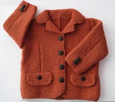 Top 50 Most Knit Baby Clothing Models of the Season - Embossed Openwork Floral 29 Baby Cardigan Knitting Pattern - Knitting For Kids, Crochet For Kids, Baby Knitting, Knitting Ideas, Baby Cardigan Knitting Pattern, Knit Cardigan, Baby Vest, Knitwear Fashion, Baby Wearing